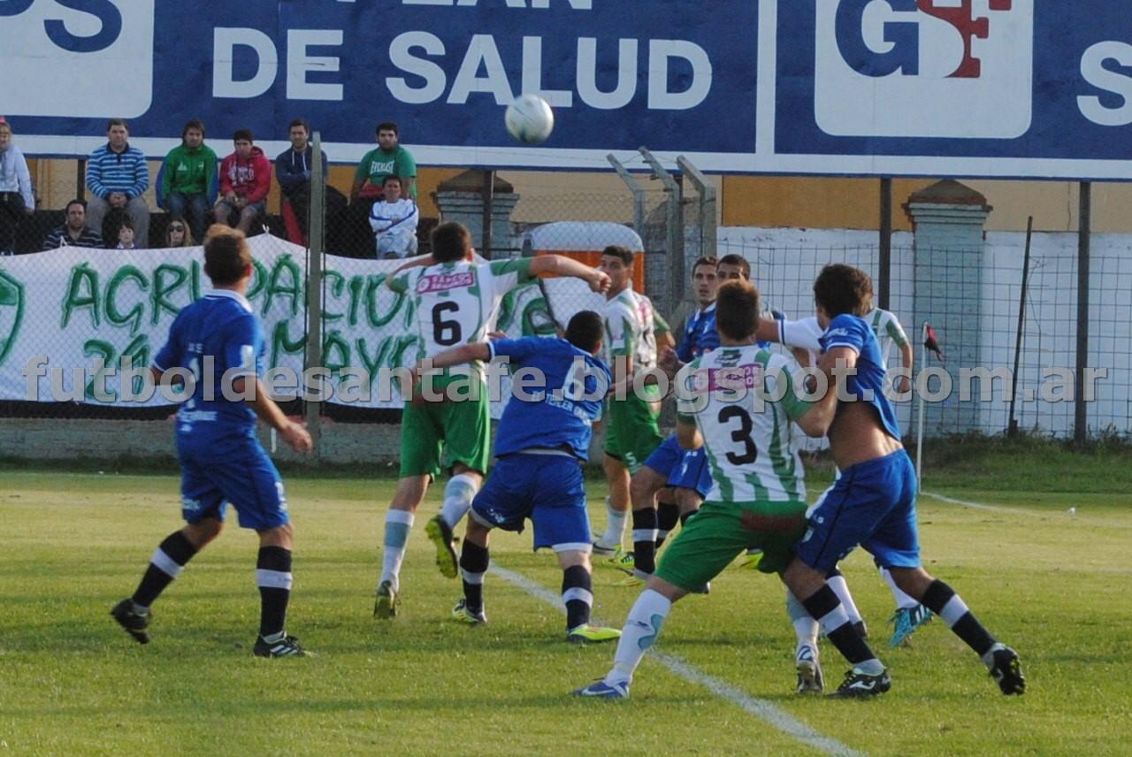 """El colegio busca sumar en su visita al """"Bicho"""" Verde. Foto archivo Fútbol De Santa Fe"""