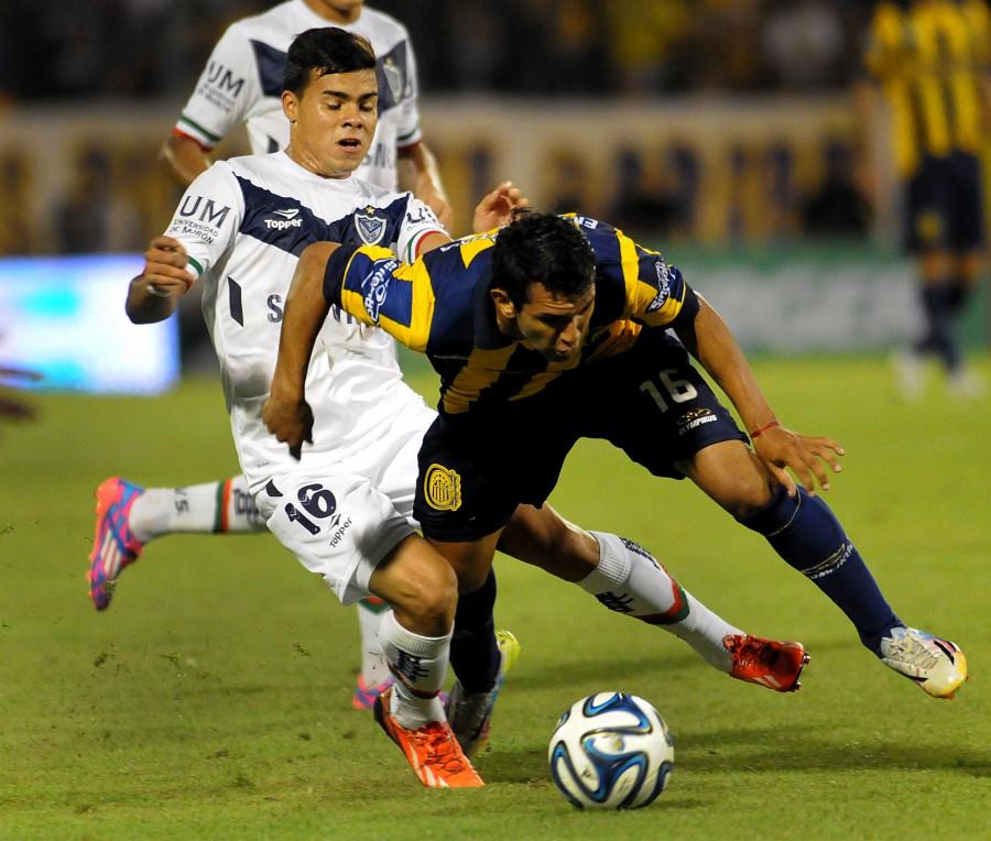 En Rosario, el local no pudo con Vélez. Foto: Telam