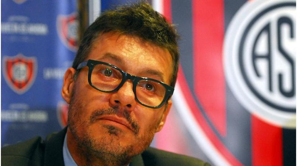 El dirigente de San Lorenzo, buscó aliados en los otros grandes para cambiar nuevamente el torneo.