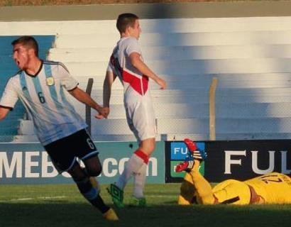 El sub 20, volvió al triunfo, luego de la derrota ante Paraguay y lo volvió a hacer con goleada.