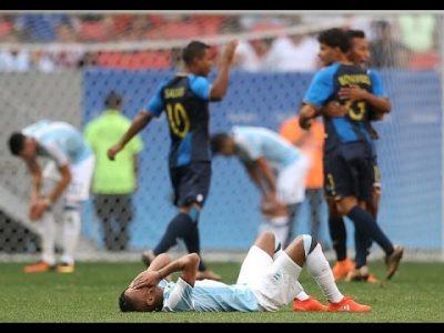 Argentina, eliminada de los juegos olímpicos