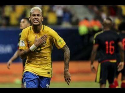 Brasil 2 – Colombia 1 (eliminatorias Rusia 2018)