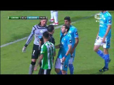 Coritiba 1 – Belgrano 2 (Copa Sudamerican)
