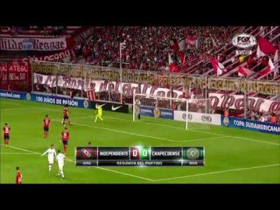 Independiente 0 – Chapecoense 0 (Copa Sudamericana)