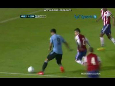 Uruguay 4 – Paraguay 0 (eliminatorias Rusia 2018)