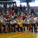 Colón ganó y dio el primer paso rumbo al Nacional de Futsal