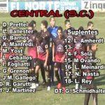 Atlético Franck 0 - Central San Carlos 2 (Copacto del partido)