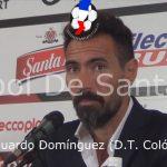 Conferencia de prensa Eduardo Domínguez, luego de Godoy Cruz