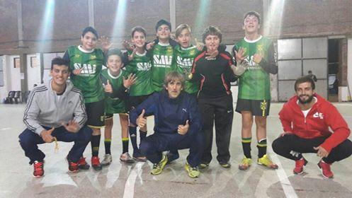 Sigue la 4ta semana de Futsal Infantil