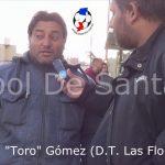 Daniel Gómez, analizó el triunfo de Las Flores ante Santa Rosa