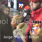 """Jorge """"Fatura"""" Broun, analizó el empate en el clásico"""