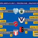 Programación próximos partidos y tribunal de disciplina Copa Santa Fe