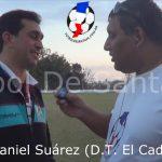 Daniel Suárez, analizó la victoria de El Cadi ante Colón