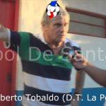 """El """"Flaco"""" Tobaldo, analizó el empate de La Perla ante Colón"""