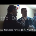 """Pancho"" Ferrero, analizó el empate Gimnasia - Argentino"