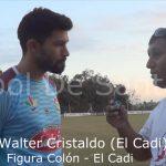 Walter Cristaldo, la figura de Colón - El Cadi