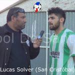 Lucas Solver (autor del gol del triunfo San Cristóbal a Nobleza)