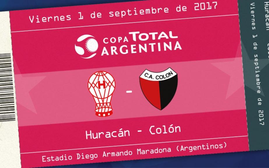 Venta de entradas para Huracán – Colón