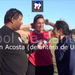 Paolini, Acosta y Chemes, festejaron el título de Unión femenino