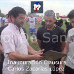 Inauguración Clausura Carlos Zacarias López