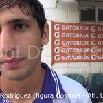 Joaquín Rodríguez (la figura de Cosmos - Atlético Uruguay)