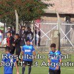 Los goles de Colón - Argentino