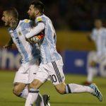 Ecuador 1 - Argentina 3