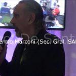 Sivio Truco y Guillermo Marconi, en el festejo del día del árbitro