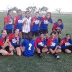 Defensores del Oeste (Esperanza) 2 - 9 de Julio (Rafaela)  0 (Femenino