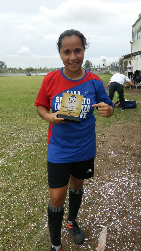Karen Acosta la goleadora en Copa de Oro