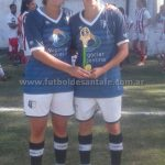 """Laura """"Caracol"""" Gómez goleadora en Copa de Plata"""