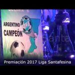 Compacto entrega de premios Liga Santafesina