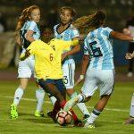 Argentina ganó en el debut del Sub 20 Femenino