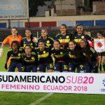 Colombia 3 - Argentina 1 (Sudamericano Femenino Sub 20)