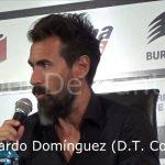 Conferencia Eduardo Domínguez, luego de la derrota ante Independiente