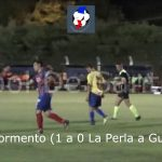 El primer gol de Andrés Formento, Guadalupe - La Perla (Tiburón Lagunero)