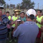 La entrega de premios en la Copa Ara San Juan
