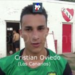 Cristian Oviedo (figura Independiente - Los Canarios)
