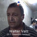 El análisis de Walter Valli, de la victoria de Nobleza ante Don Salvador