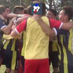 Los festejos de El Quillá, por la clasificación a semifinales Federal C