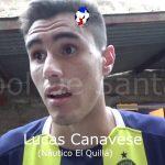 Lucas Canavese, el destacado de El Quillá ante Urquiza