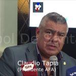 El fundamento de Claudio Tapia (presidente de AFA) para la eliminación de Torneos Federales