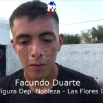 Facundo Duarte, la figura de Deportivo Nobleza - Las Flores II