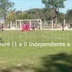 Los goles de Duré y Giménez en Independiente - Nacional