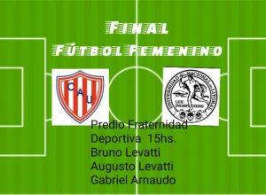 Se juega la tercera fecha del triangular Apertura Femenino
