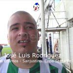 José Luis Rodríguez, la figura de Cosmos - Sanjustino (Copa Santa Fe)