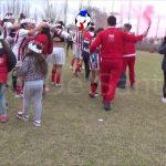 Los festejos de Unión, por la coronación como campeón del Apertura Femenino