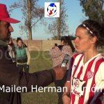 Mailen Herman, habló luego del triunfo de Unión sobre Logia FF