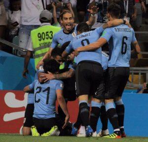 Uruguay eliminó a Portugal y está en cuartos de final