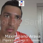 Maximiliano Araya, la figura de Las Flores II - Loyola